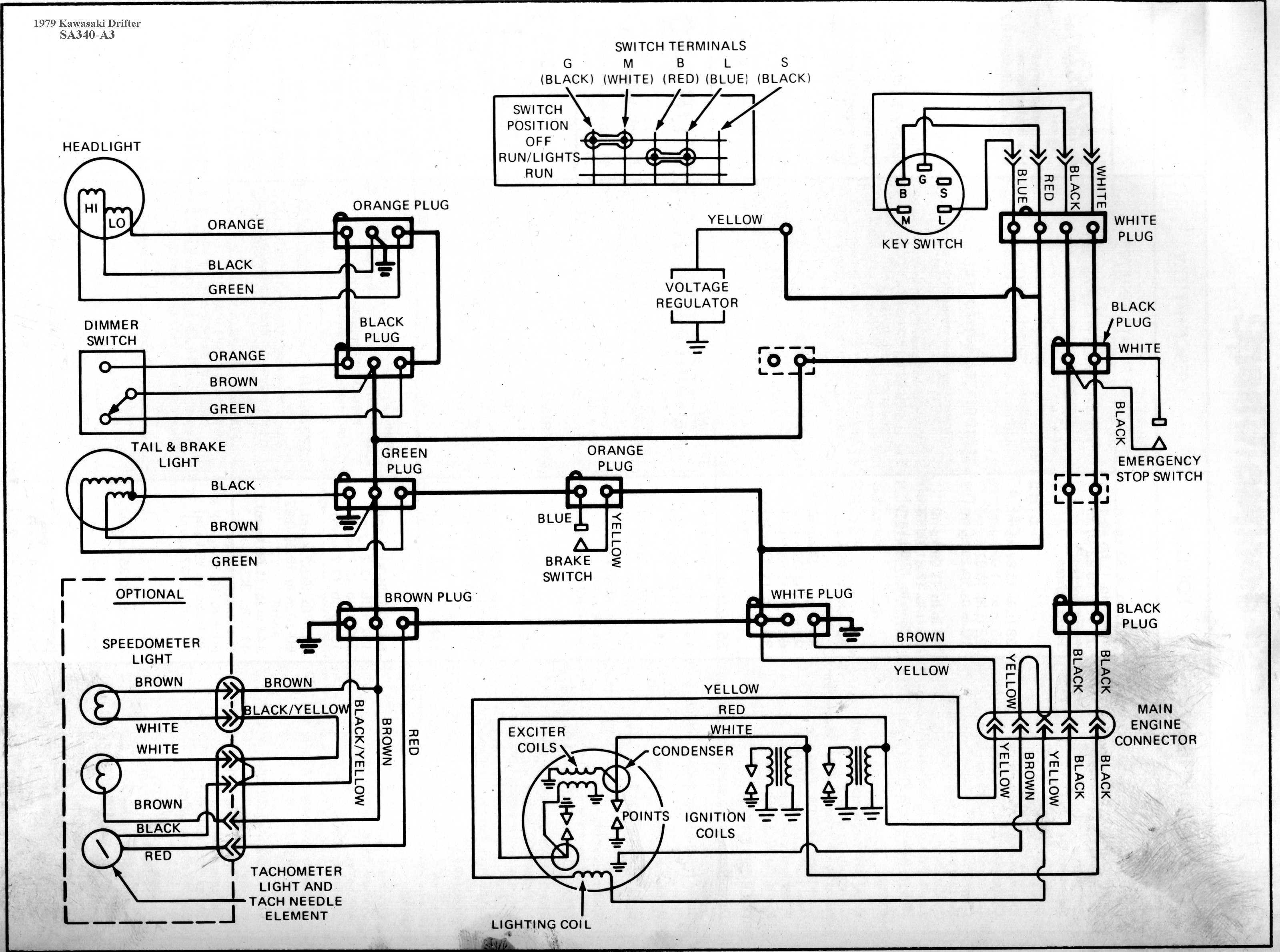 Generic Kawasaki Snowmobile Wiring Diagrams - Repair Wiring Scheme