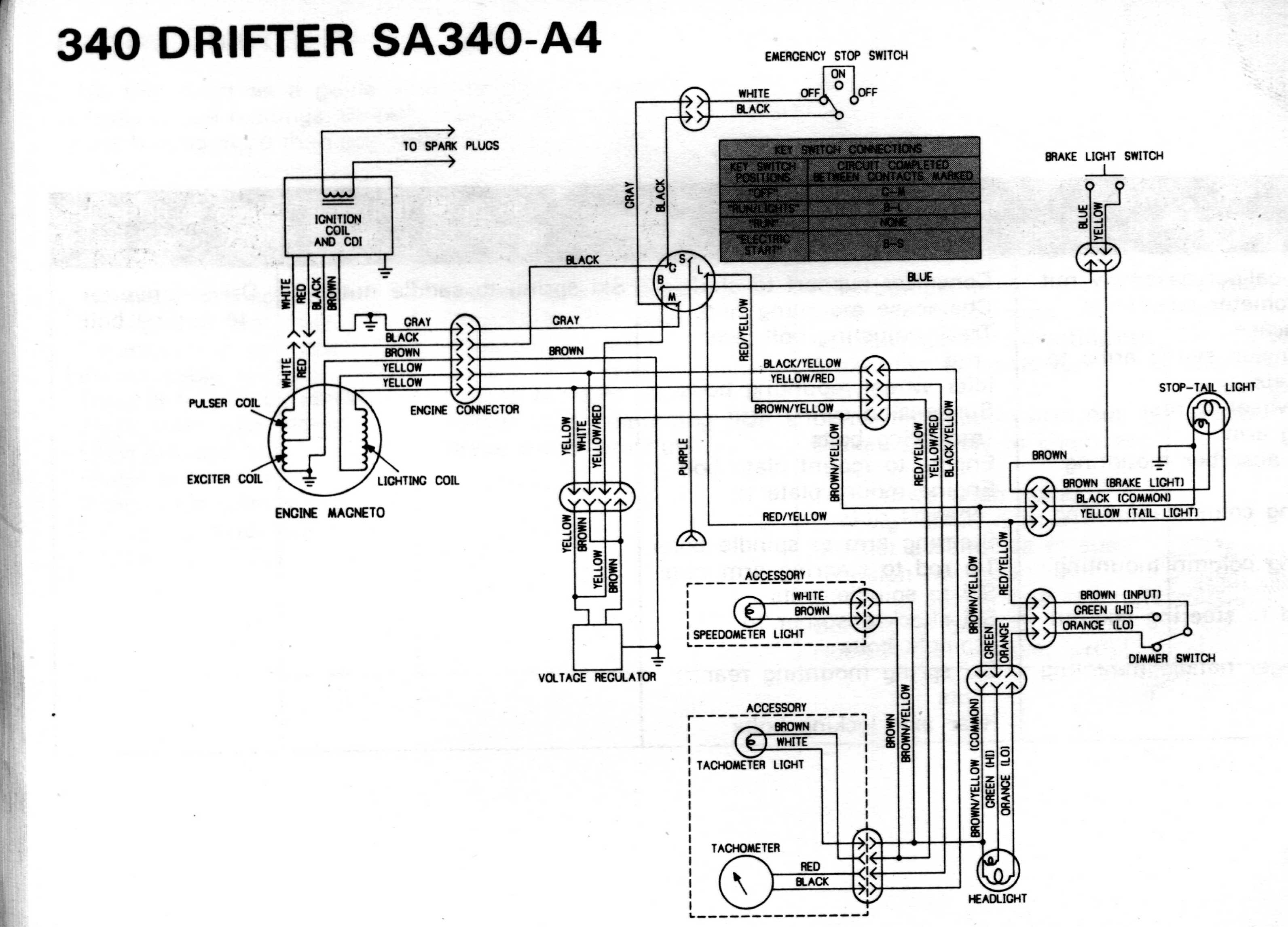 Rupp Nitro Wiring Diagram And Schematics 1977 Honda Cb750 77 1975