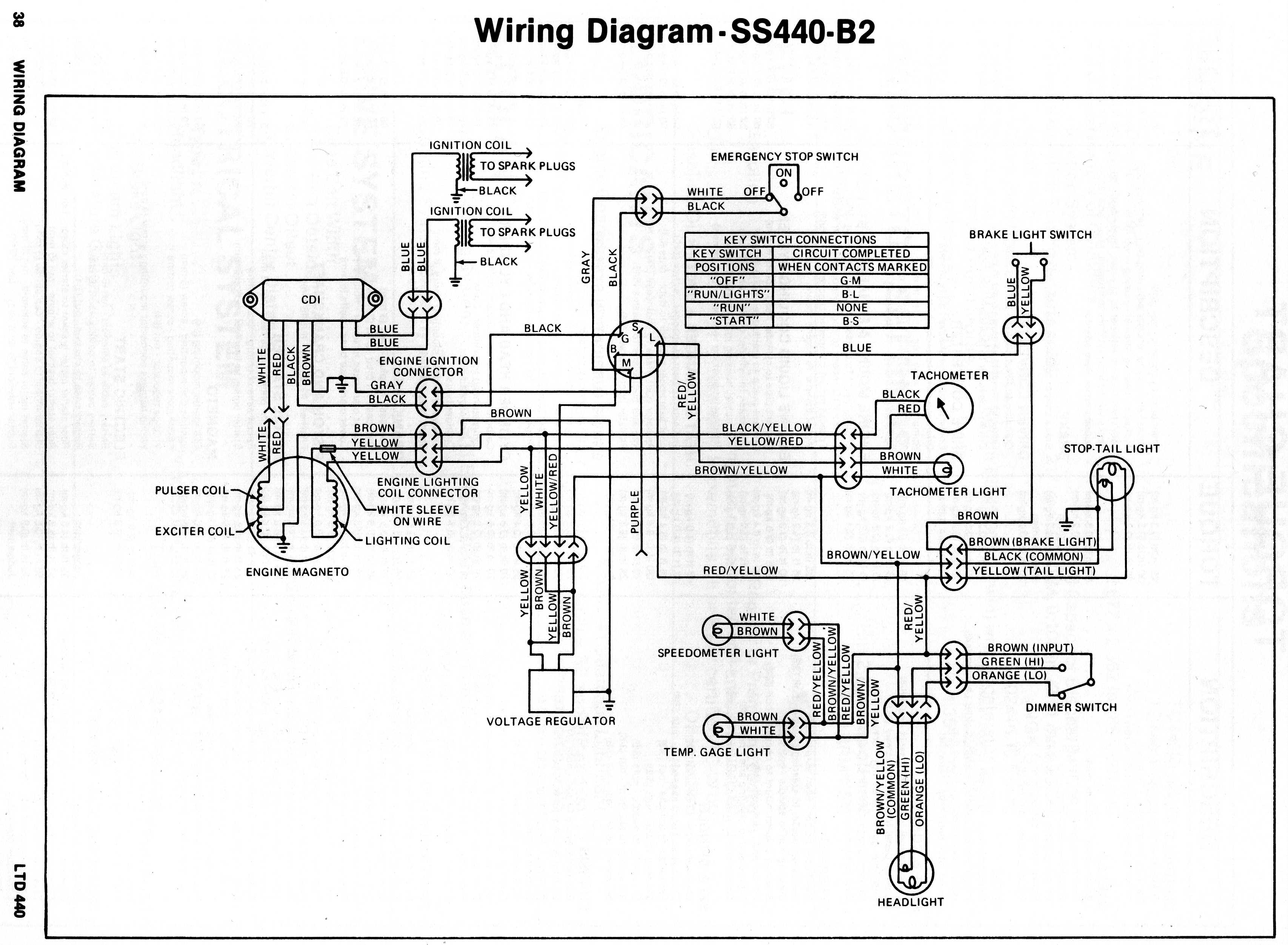 kawasaki invader snowmobile wiring diagrams rh kawisncats freevar com