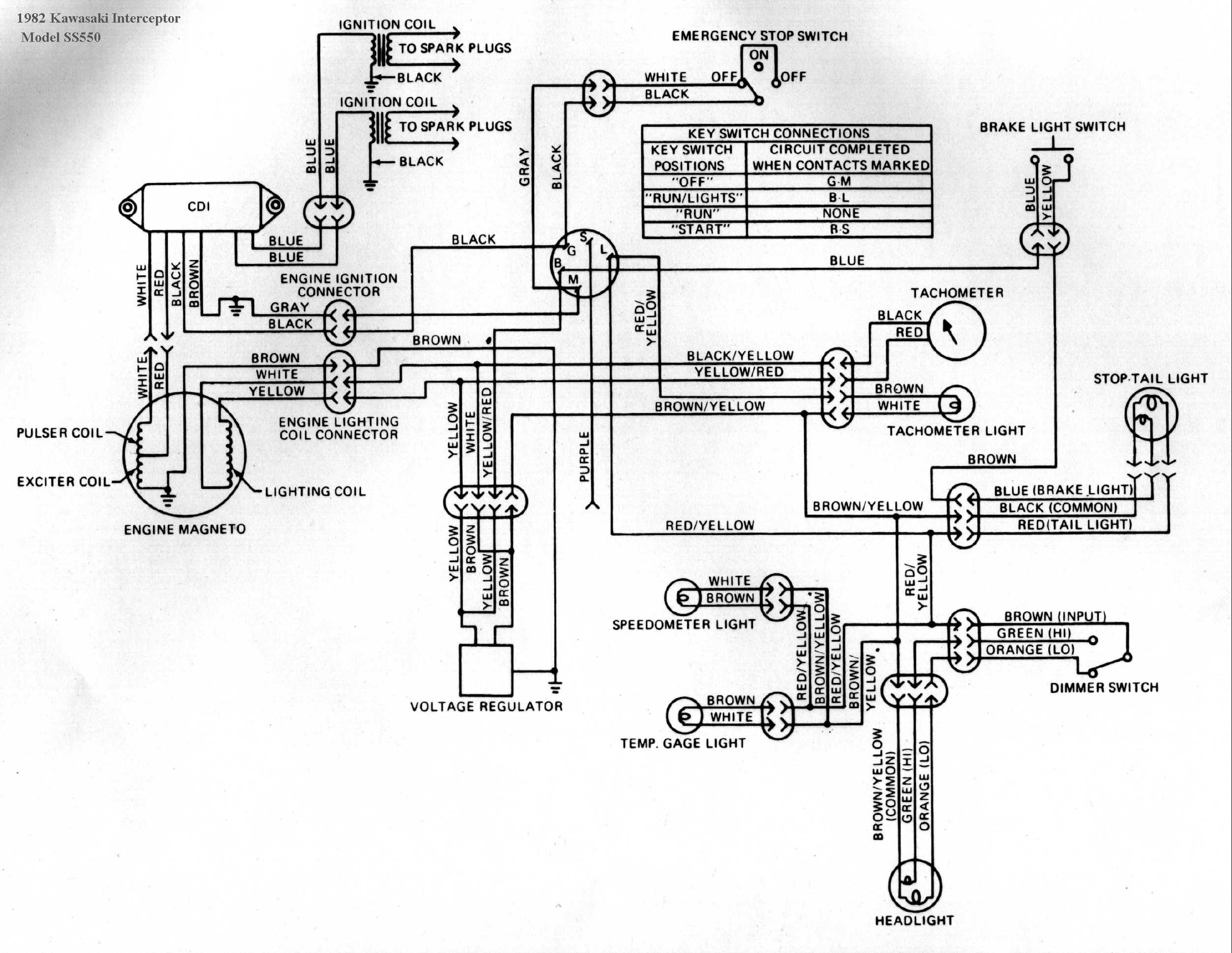 ss550 kawasaki snowmobile wiring diagrams Ski-Doo Rev Wire Diagram at readyjetset.co